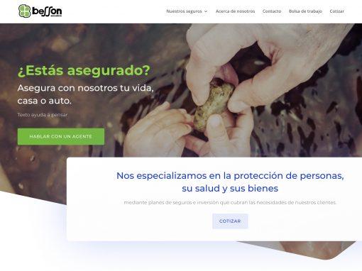 Besson Seguros – Web